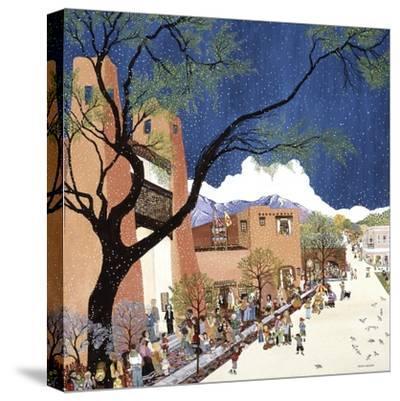Santa Fe Smiling-Kristin Nelson-Stretched Canvas Print