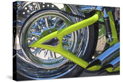 USA, Florida, Daytona Beach, customized bike, bike week.-Jim Engelbrecht-Stretched Canvas Print