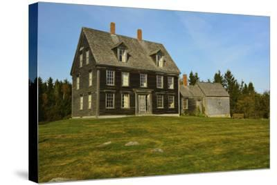 Olson House, Cushing, Maine, USA-Michel Hersen-Stretched Canvas Print