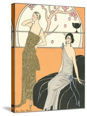 AGB Fashion Illustration--Stretched Canvas Print