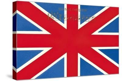 Union Jack--Stretched Canvas Print