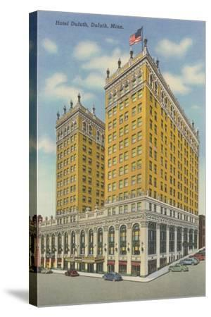 Hotel Duluth--Stretched Canvas Print