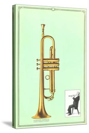 Trumpet--Stretched Canvas Print