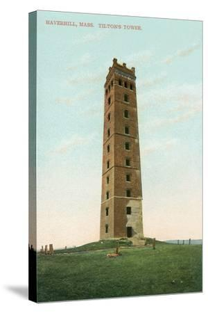 Tilton's Tower, Haverhill--Stretched Canvas Print