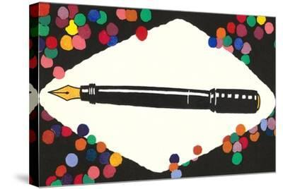 Fountain Pen--Stretched Canvas Print