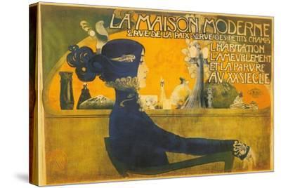 La Maison Moderne--Stretched Canvas Print