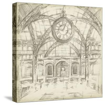 Interior Architectural Study I-Ethan Harper-Stretched Canvas Print
