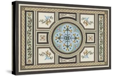 Chateau Panel I-Erica J^ Vess-Stretched Canvas Print