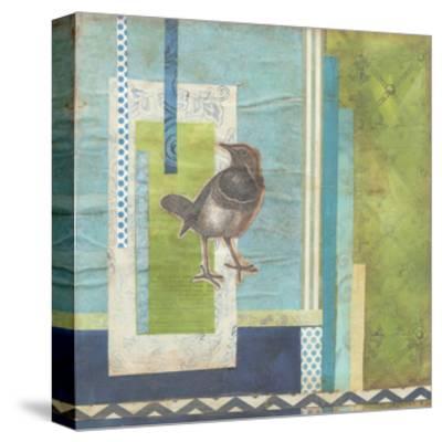 Avian Scrapbook I-Erica J^ Vess-Stretched Canvas Print