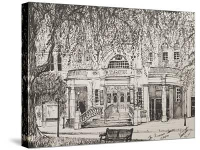 Richmond Theatre London, UK-Vincent Booth-Stretched Canvas Print