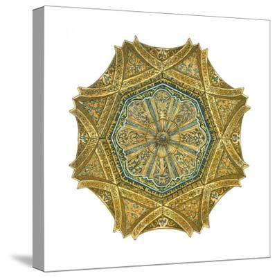 Mosque of Cordoba, Spain, Mihrab Cupola-Fernando Aznar Cenamor-Stretched Canvas Print