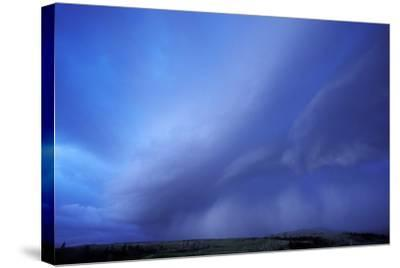 An Evening Storm over the Blacktail Plateau-Tom Murphy-Stretched Canvas Print
