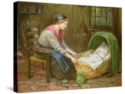 Mother and Child-Cornelis de Vos-Stretched Canvas Print