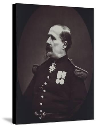 Portrait of Colonel, 1878-Eugene Fromentin-Stretched Canvas Print