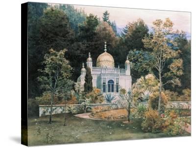 Germany, Moorish Kiosk in Park of Linderhof Castle, 1881-Heinrich Schliemann-Stretched Canvas Print