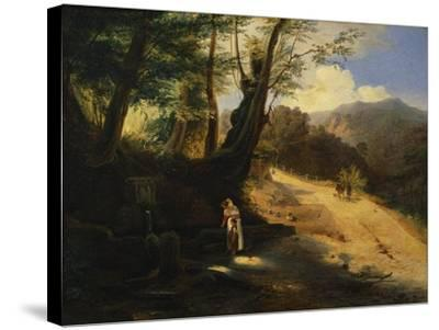 The Fountain in the Woods-Gaetano Donizetti-Stretched Canvas Print