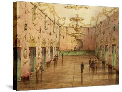 The Sperl Saal, Dancehall Where Johann Strauss' Waltzes Were Played-Kerpel Lipot-Stretched Canvas Print