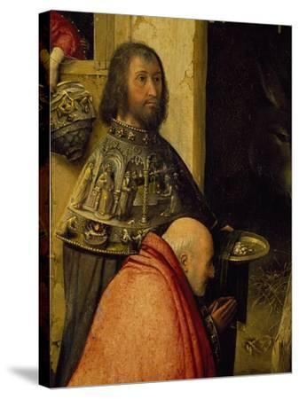 Two Wise Men, Detail from Adoration of the Magi, 1510-Hieronymus Francken I-Stretched Canvas Print