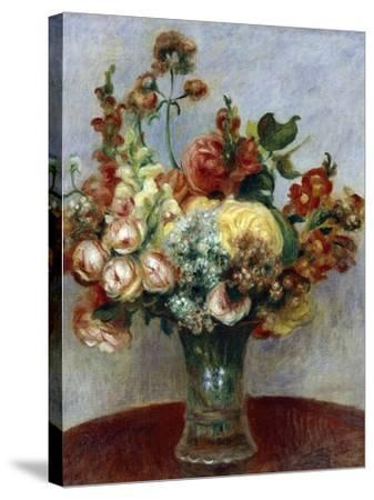 Flowers in a Vase, 1898-Pierre-Auguste Renoir-Stretched Canvas Print