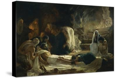 Burial of Jesus Christ, 1895-Vilmos Zsolnay-Stretched Canvas Print