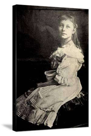 Prinzessin Viktoria Luise Von Preußen Sitzend--Stretched Canvas Print