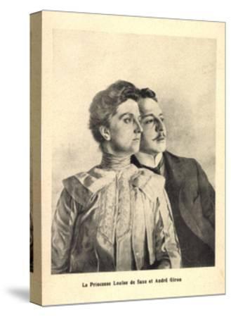 Künstler Prinzessin Louise Von Sachsen, Andre Giron--Stretched Canvas Print