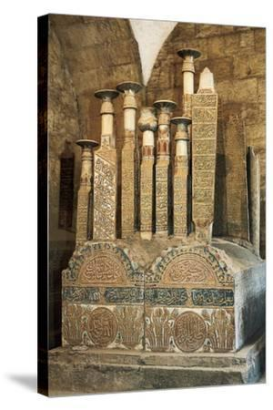 Mamluk Tombs, City of Dead, Cairo, Egypt--Stretched Canvas Print