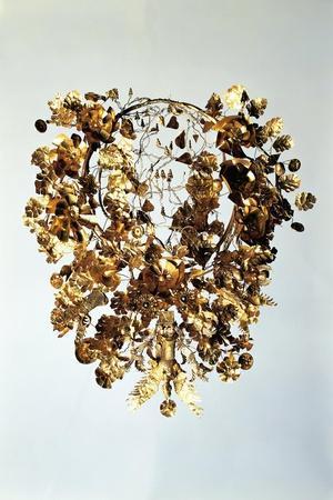 Italy, Basilicata, Armento, Golden Crown--Stretched Canvas Print