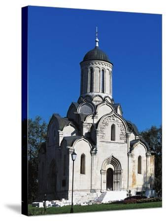 Cathedral of Christ Saviour, Andronikov Monastery of Saviour, Moscow, Central District, Russia--Stretched Canvas Print