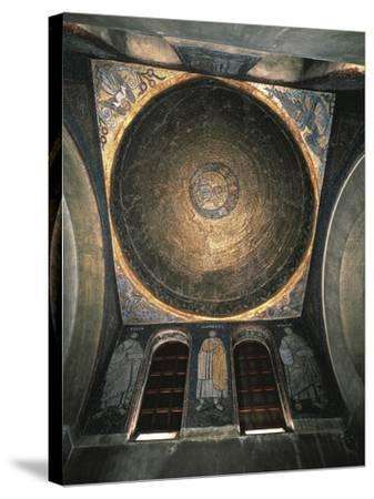 Italy, Milan Basilica of Sant'Ambrogio, San Vittore in Ciel D'Oro, Oratory, Mosaic Decorated Vault--Stretched Canvas Print