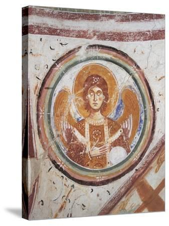 Italy, Friuli Venezia Giulia Region, Aquileia, Cathedral in Crypt--Stretched Canvas Print