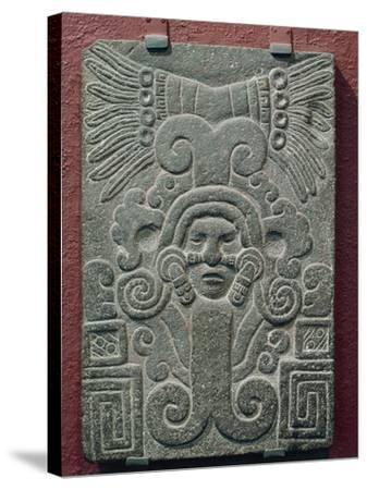 Relief on Stone Depicting Birth of Quetzalcoatl, Mexico--Stretched Canvas Print
