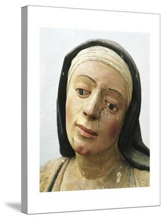 Statue of Martha of Bethania--Stretched Canvas Print