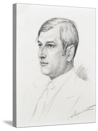Austria, Vienna, Portrait of Clemens Krauss--Stretched Canvas Print