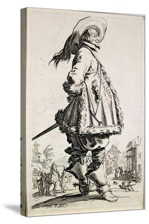 The Musketeer, from Series La Noblesse--Stretched Canvas Print