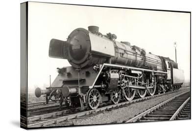 Foto Deutsche Einheits Stromlinienlok Nr. 05 002--Stretched Canvas Print