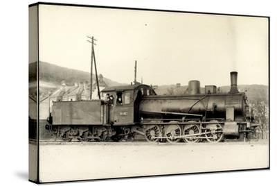 Foto Deutsche Güterlok Nr. 55 663 Preußen, Tender--Stretched Canvas Print