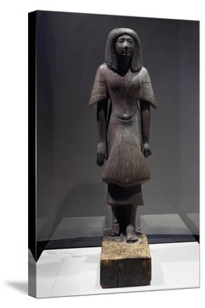 Statue of Piay, Ca 1300 BC--Stretched Canvas Print