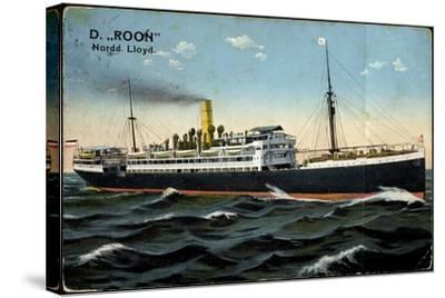 Dampfer Roon, Norddeutscher Lloyd Bremen--Stretched Canvas Print