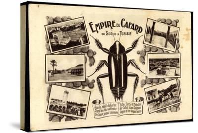 Tunesien, Empire Du Cafard, Küchenschabe, Sahara, Afrika--Stretched Canvas Print