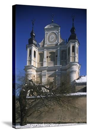 Lithuania, Vilnius, Old Town, St. Michael's Church--Stretched Canvas Print