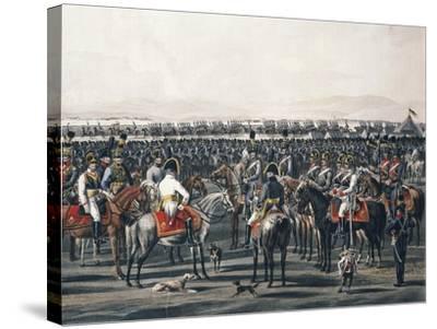 Austrian Cavalry, Napoleonic Wars, Austria--Stretched Canvas Print