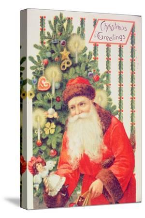 Santa Claus--Stretched Canvas Print