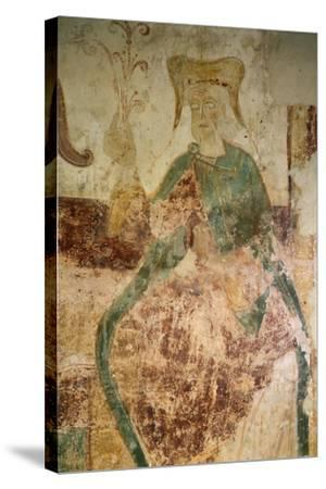 Branch of Jesse, Chapel of Saint-Jean, Certosa of Liget, France, 12th Century--Stretched Canvas Print
