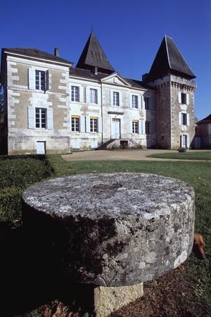 Facade of Chateau Conty, Coulaures, Dordogne, Aquitaine, France--Stretched Canvas Print