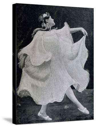 Dancer, 1905--Stretched Canvas Print