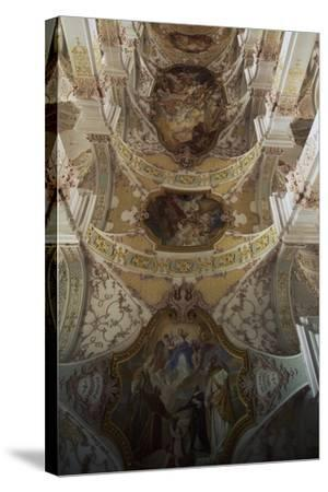 Inside Church of Holy Spirit, Munich. Germany.--Stretched Canvas Print