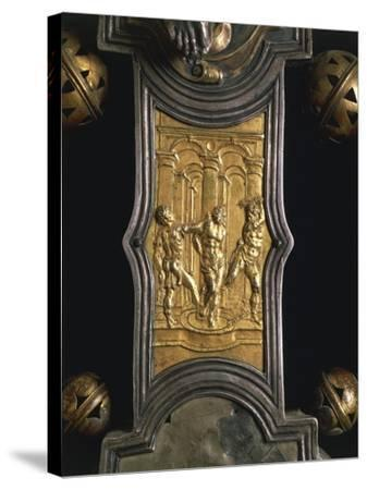 Processional Cross, 1557, Made in Abruzzo Region.--Stretched Canvas Print
