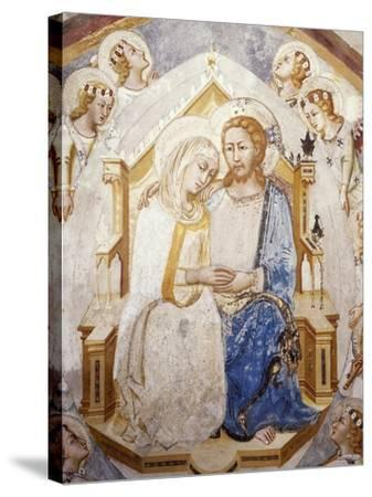 Central Section of Assumption of the Virgin, from Master Trecentesco School--Stretched Canvas Print
