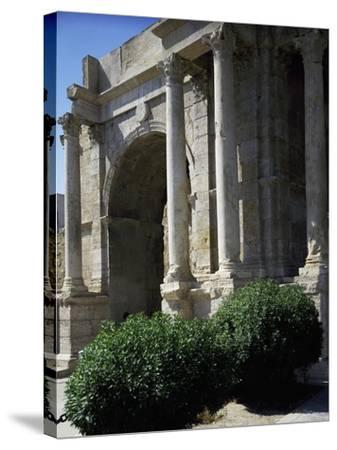 Triumphal Arch known as Arco Di Caracalla at Roman Ruins of Tebessa, Algeria, 3rd Century--Stretched Canvas Print